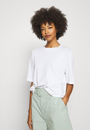 3/4 SLEEVE - Basic T-shirt - white