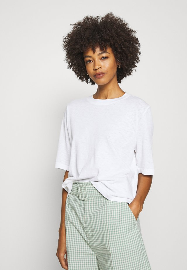 3/4 SLEEVE - T-shirt basique - white
