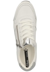 s.Oliver BLACK LABEL - Sneakersy niskie - white 100 - 1