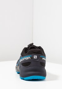 Salomon - SPEEDCROSS - Zapatillas de senderismo - black/graphite/hawaiian - 4