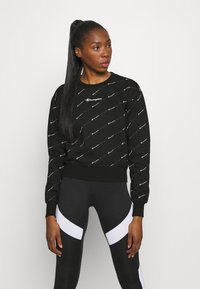 Champion - CREWNECK LEGACY - Sweatshirt - black - 0