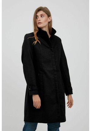 FRLAWOOLY - Klasyczny płaszcz - black