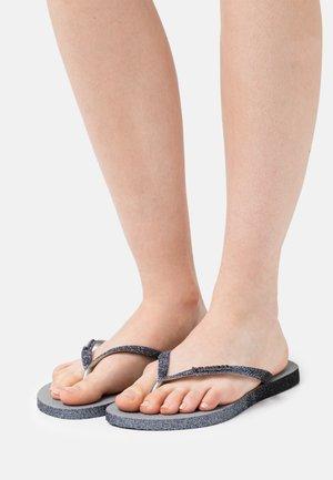 SLIM SPARKLE FADE - Pool shoes - steel grey