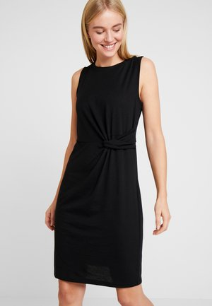 Vestido de tubo - true black