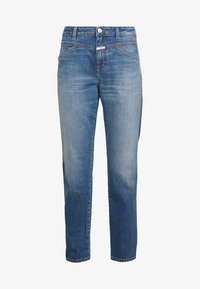 CLOSED - CROPPED - Straight leg jeans - mid blue - 5