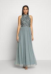 Lace & Beads - GUI MAXI - Suknia balowa - teal - 1