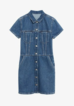 Denim dress - ciemnoniebieski