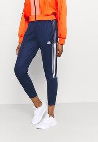 adidas Performance - TIRO  - Pantaloni sportivi - team navy blue - 3
