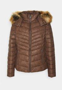 LANGARM - Winter jacket - tobacco