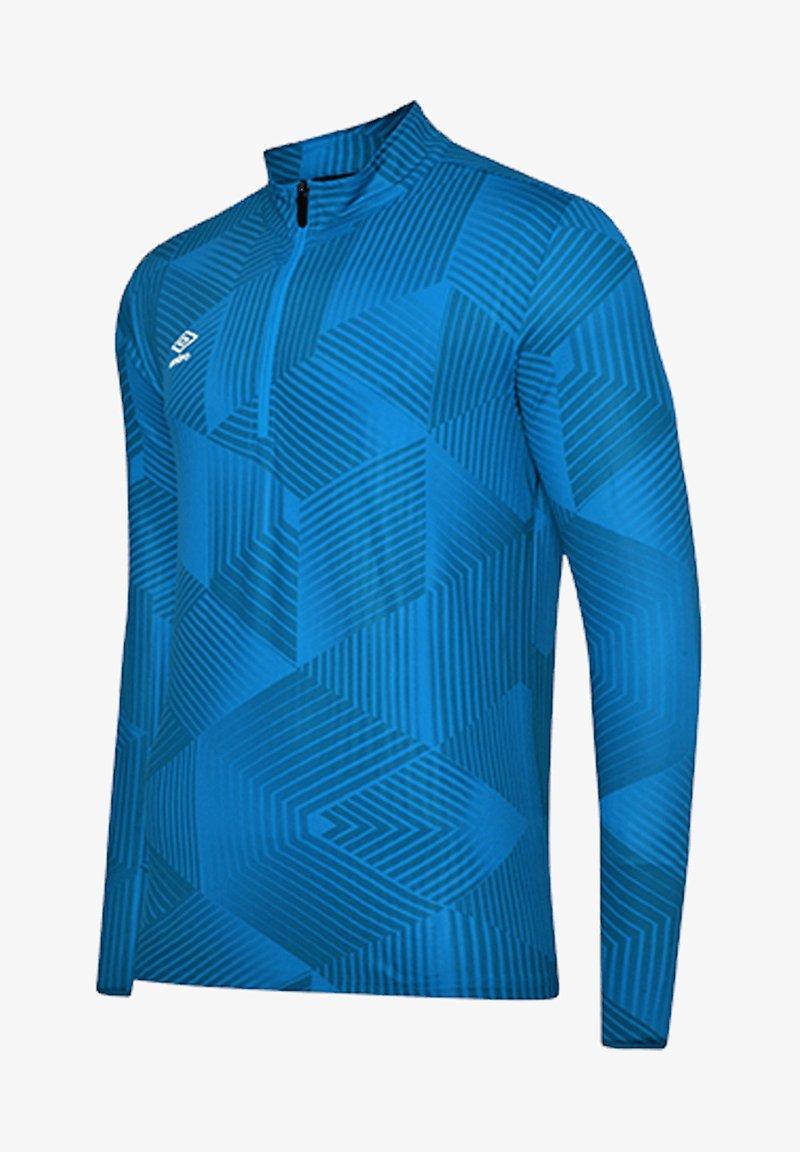 Umbro - Long sleeved top - blau
