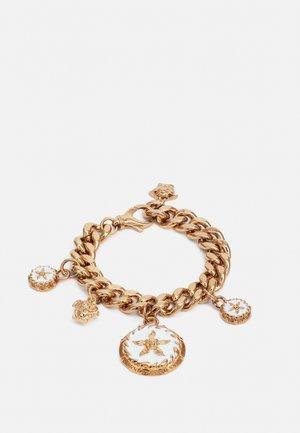 ROUND STAR BRACELET - Bracelet - gold-coloured/bianco
