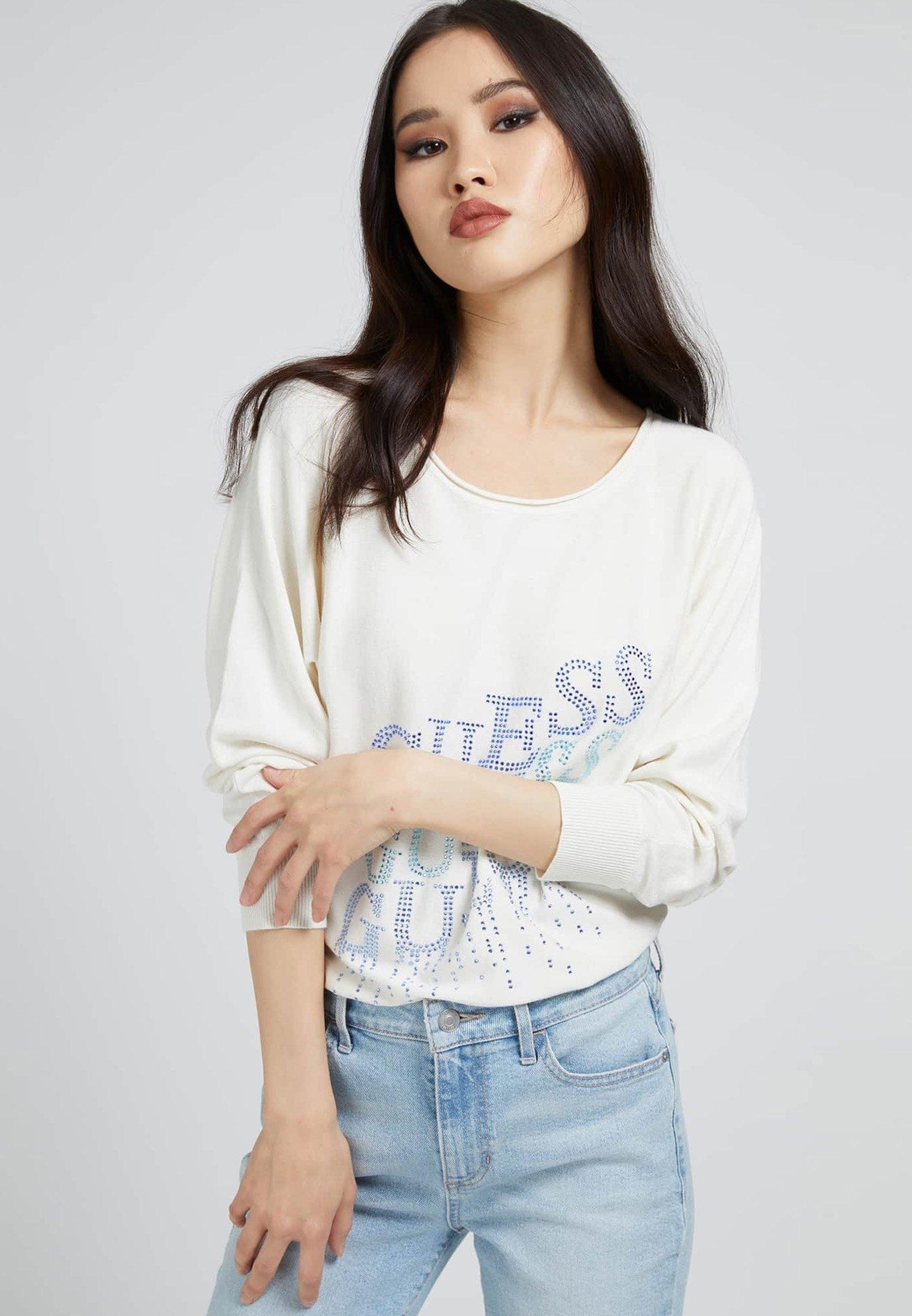 Damen CLAUDINE BAT SLEEVE - Sweatshirt