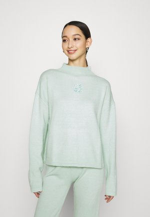 HIGH NECK OVERSIZE JUMPER - Jumper - mint