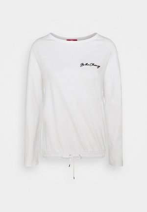 LANGARM - Sweatshirt - off-white