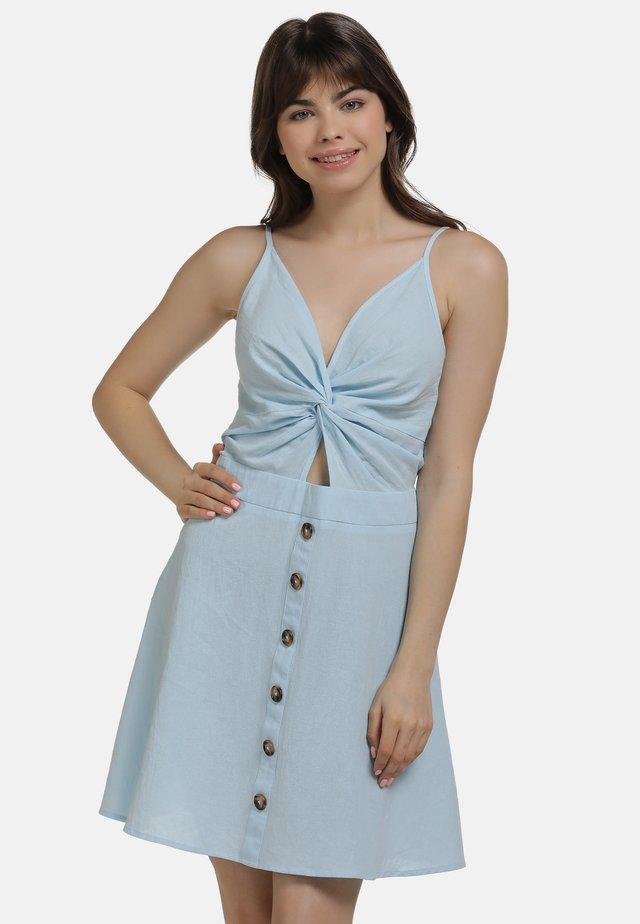 KLEID - Korte jurk - hellblau