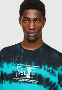 Diesel - Print T-shirt - blue/black - 3