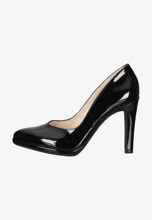 High heels - schwarz lack 010