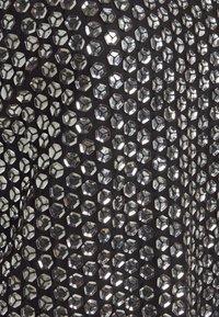 MANÉ - LEXI TOP - Camicetta - black/silver - 2