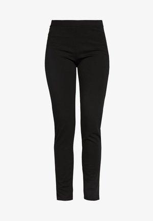 PCKLARA SLIM PANT - Pantalones - black