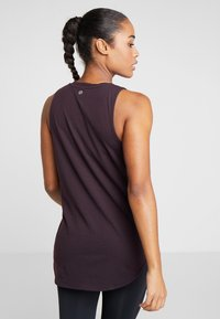 Cotton On Body - MATERNITY ACTIVE CURVE HEM TANK - Top - eggplant - 2