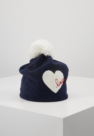 GIRL LOVE HAT - Beanie - navy uniform