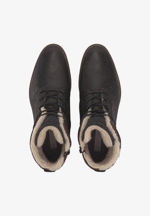 SCHNÜR-BOOTS  - Winter boots - schwarz