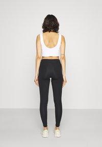 adidas Originals - STRIPES COMPRESSION - Leggings - black - 2