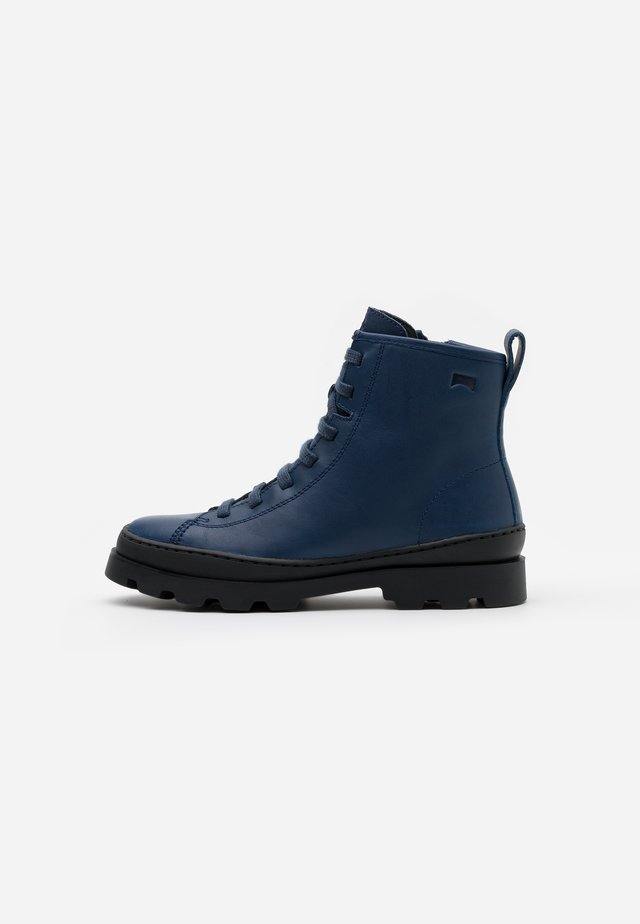 BRUTUS KIDS - Lace-up ankle boots - medium blue
