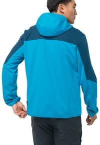 Jack Wolfskin - GO HIKE  - Soft shell jacket - blue jewel - 1