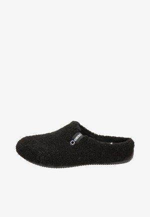 VERBENAS YORK NAIROBI DAMES PANTOFFEL - Pantoffels - zwart