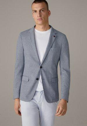 CALVIN - Blazer jacket - silber