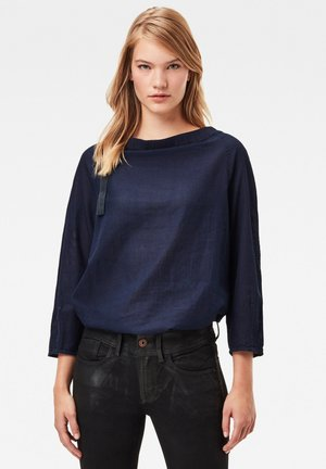 GATHERED NECK - Blouse - rinsed