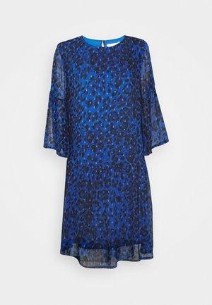 FINNA DRESS - Denní šaty - blue
