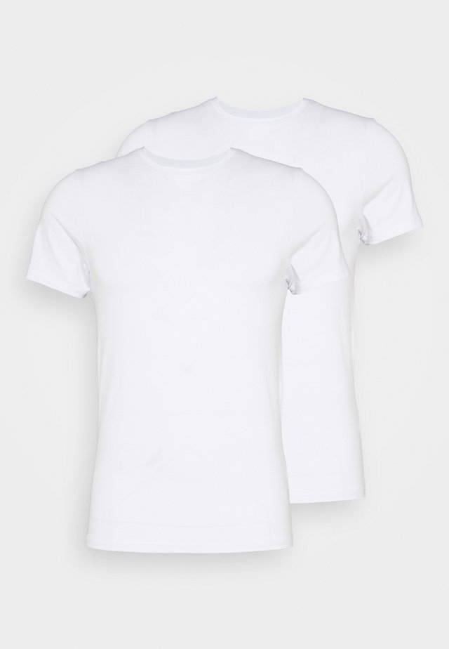 O-NECK 2 PACK - Camiseta interior - weiss