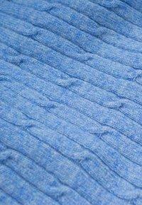 Dalle Piane Cashmere - Scarf - azzurro - 4