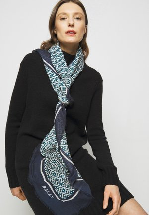 CHAIN PRINTED STOLE - Foulard - midnight light