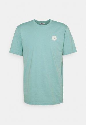 OWEN TEE - Basic T-shirt - cameo blue