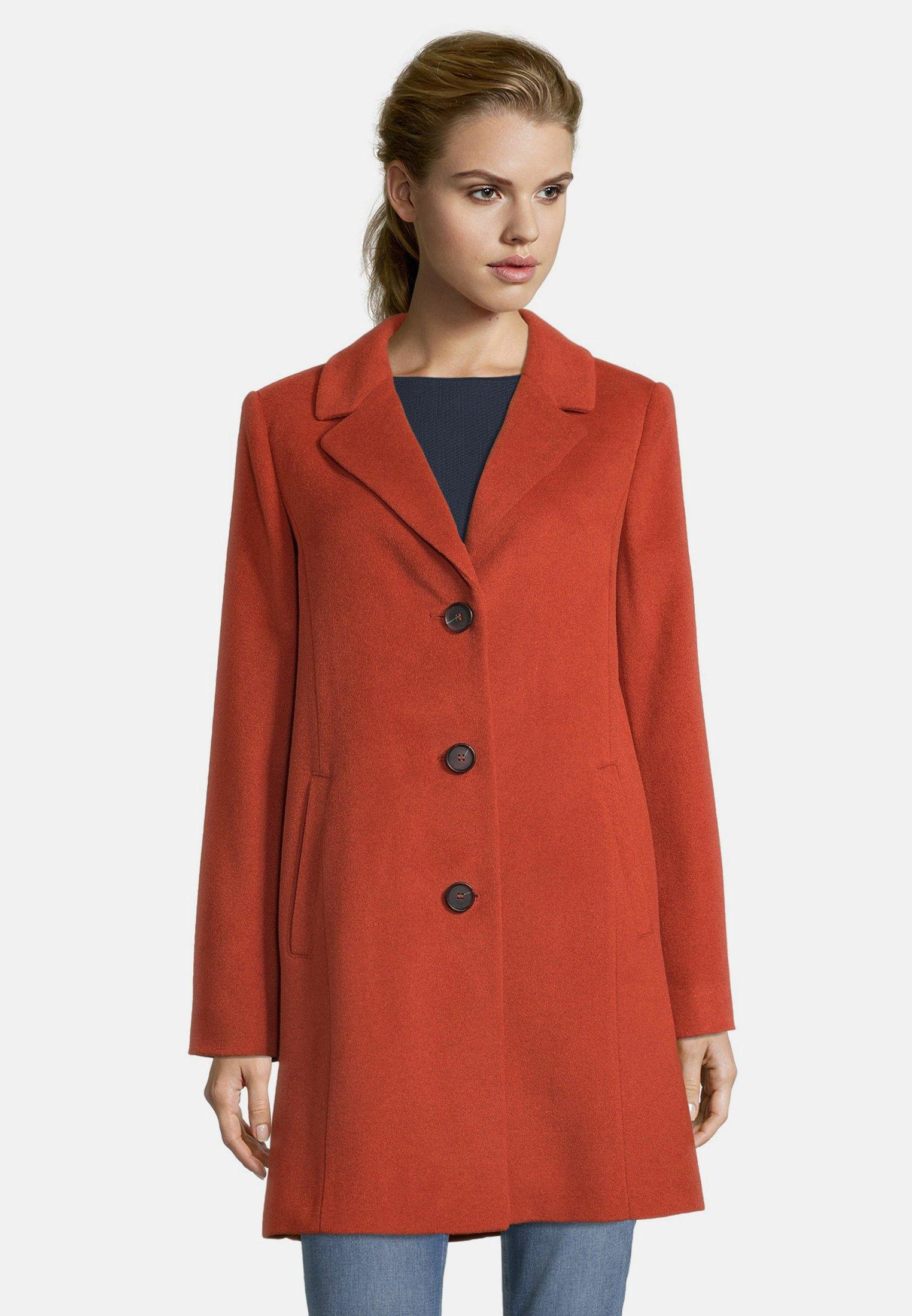 Damer MIT REVERSKRAGEN - Klassisk frakke
