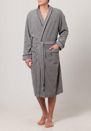 BATHROBE - Dressing gown - stone grey melange
