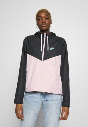 Training jacket - pink foam/black