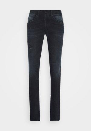 PANTALONE GEORGE - Skinny džíny - black denim