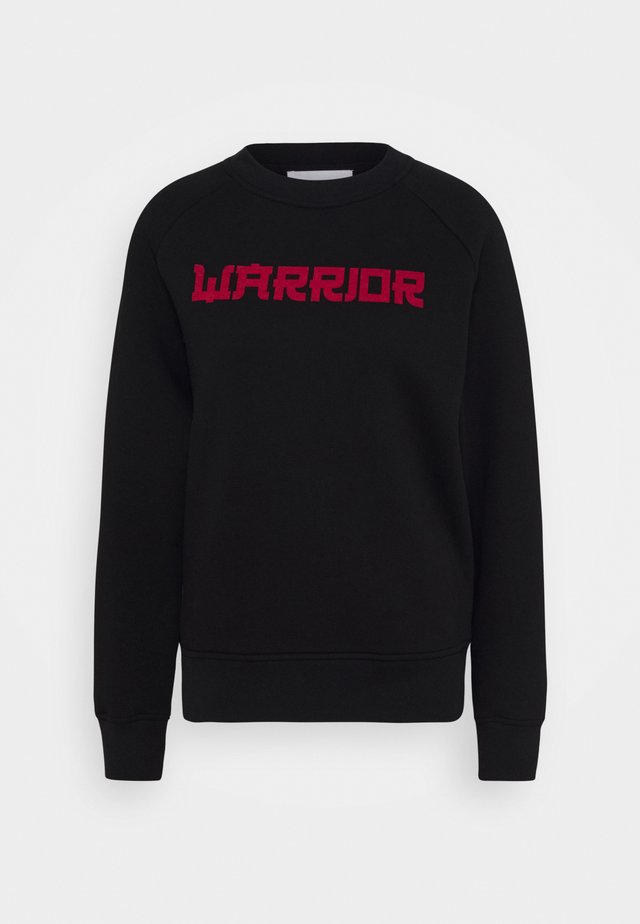 THALIA WARRIOR - Collegepaita - black