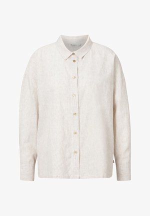 Button-down blouse - natural beige