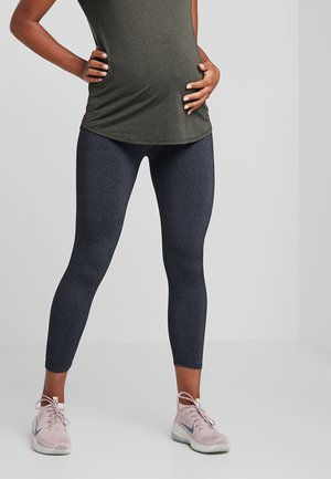 MATERNITY CORE 7/8  - Legging - charcoal marle