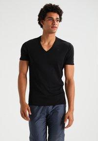 G-Star - BASE 2 PACK - T-shirt - bas - black - 1