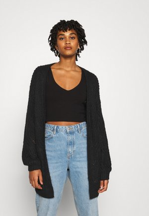 ONLHAVANA LONG CARDIGAN  - Neuletakki - black