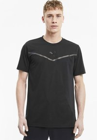 Puma - THERMO - Print T-shirt - puma black - 0