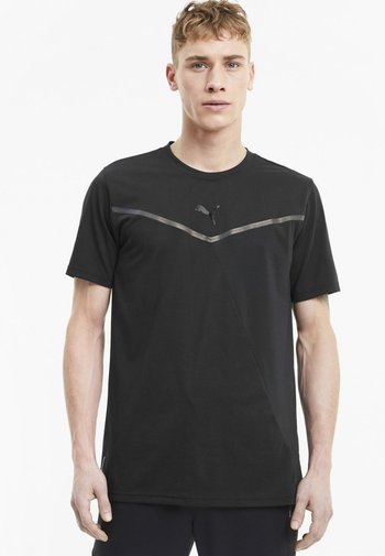 THERMO - Print T-shirt - puma black