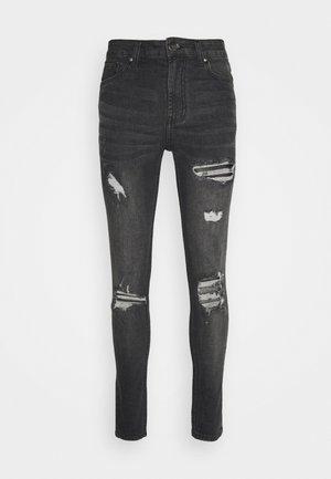 DALLAS - Jeansy Skinny Fit - black