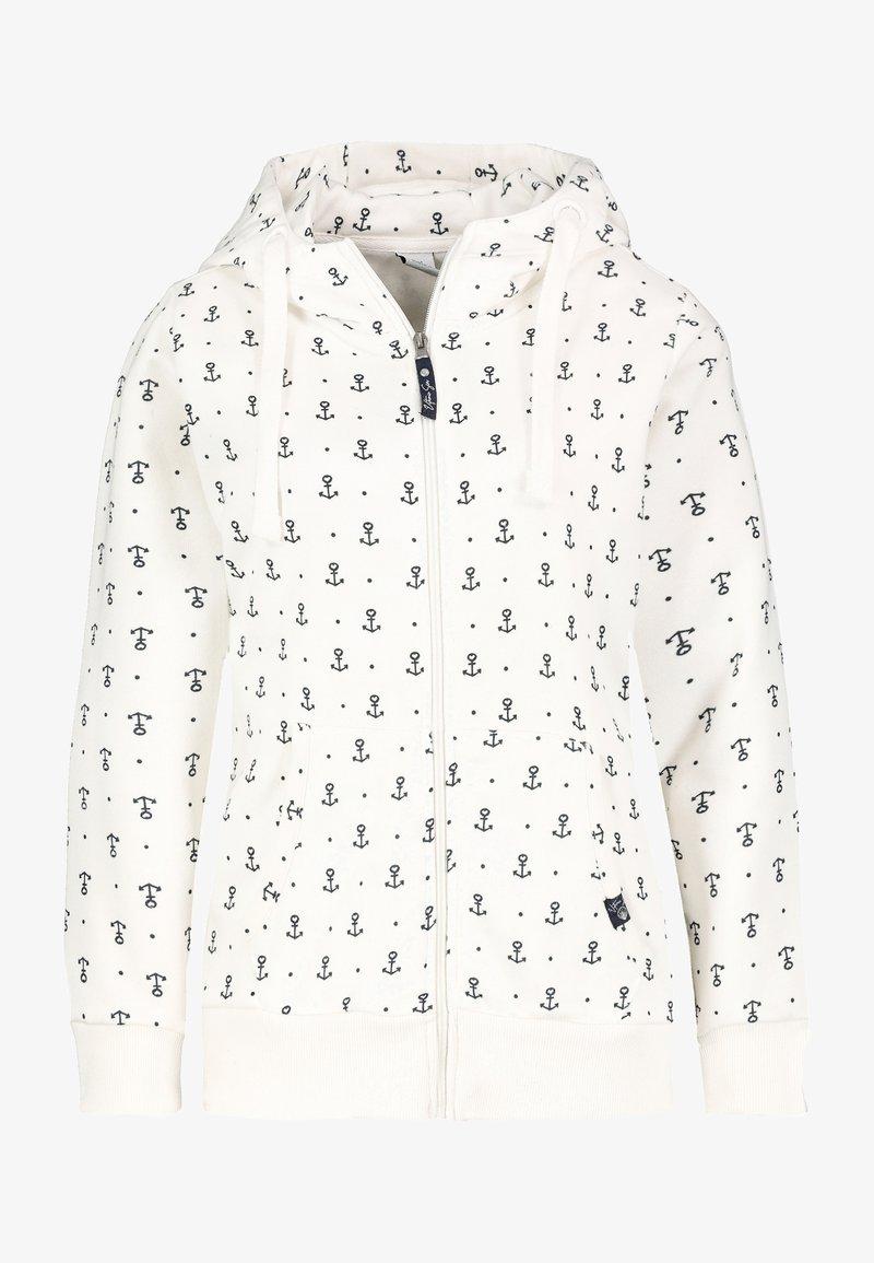 Sublevel - Zip-up sweatshirt - white